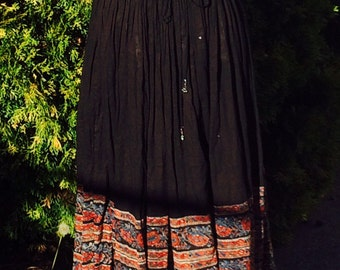 Vintage Womens Boho Zontee Skirt One Size Fits All
