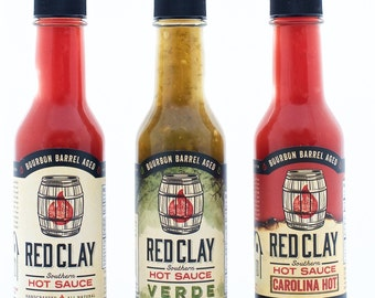 Red Clay Hot Sauce - Gift Pack