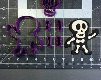 Skeleton 100 Cookie Cutter Set