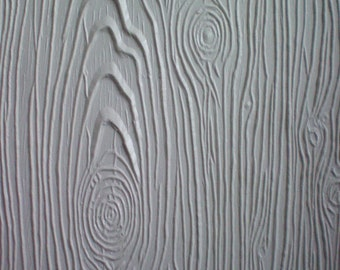 Wood Grain Texture Mat for Fondant or Clay (Free Standard US Shipping)