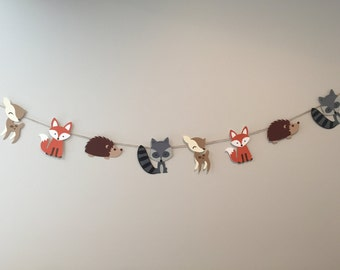 Woodland Critters Bunting