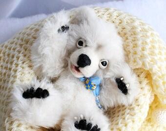 realistic polar bear cub Teddy BearOOAK polar bear cub Hamish