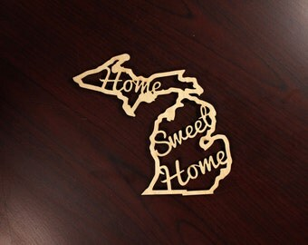 WHOLESALE- Set of 15 Michigan Home Sweet Home Ornaments