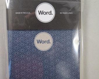Word Notebook, 3 Pack