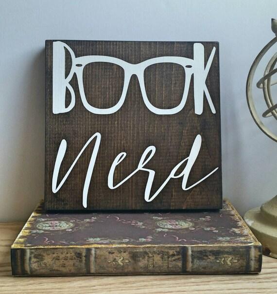 Book Nerd Wall Art