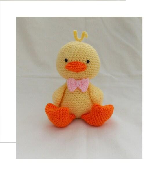 Amigurumi Baby Duck : Crochet Duckling Amigurumi Duckling crochet duck chick new