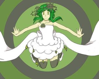 Vocaloid Megpoid GUMI God's An Energy Cheapskate Print