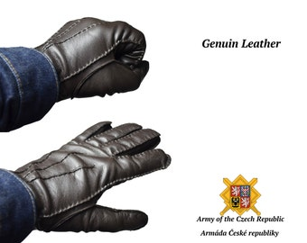 Winter Gloves Genuine Issued by The Czech Republic Military