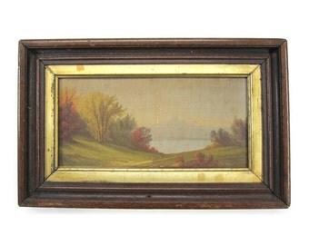 1869 Louis Prang & Co Chromolithograph Landscape Print