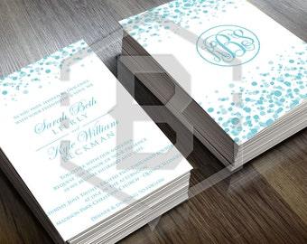 Personalized Wedding Invitation Design