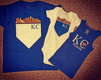 Kansas City Royals Tank, Shirt or  Onesie