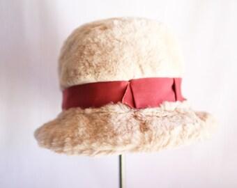 "Marshall Fields ""Teddy Bear"" hat"