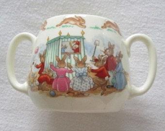 Royal Doulton Bunnykins 2-handled mug