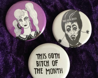 This Goth pin pack 2