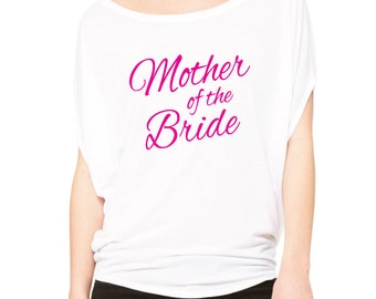 Mother Of The Bride Shirt.  Brides Mom Wedding Day Shirt. Mother Of The Bride T-Shirt. Bridal Party Shirts. Bachelorette Shirt.