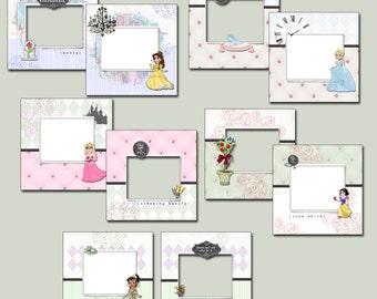 Digital Disney Princess Autograph Book (Five Classic Princesses Version)