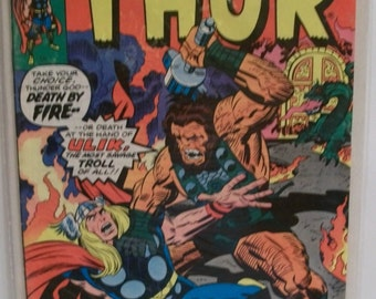 1976 Marvel Comics The  Mighty Thor #252 Thor Vs Ulik  Classic Jack Kirby Artwork  VG-VF Vintage Marvel  Comic Book