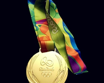 OLYMPIC GOLD Medal RIO de Janeiro 2016-Free Shipping