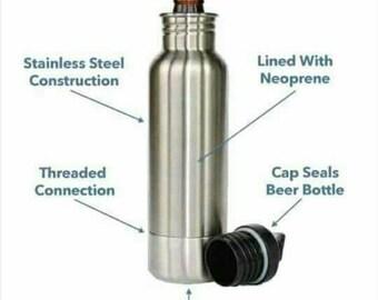 Custom bottle Koozie