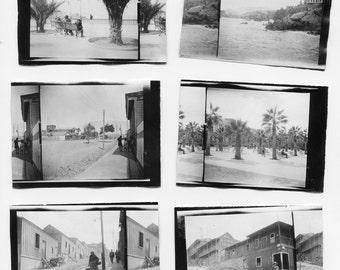 Mollendo, Peru by J. Dearden Holmes, 1920s original Antique Photo Set (6 photos), collectible, historic