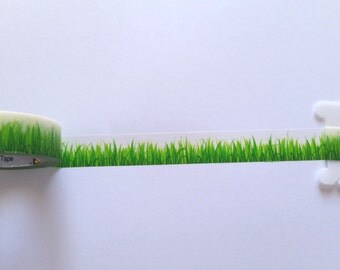 Grass Washi Tape // Sample // Item #WT012