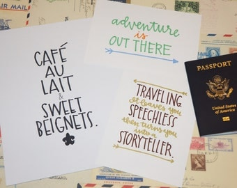Cafe au Lait & Sweet beignets