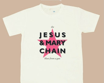 Vintage The Jesus and Mary Chain x British Rock Band T shirt S,M,L,XL