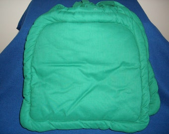 Green Chair Pads