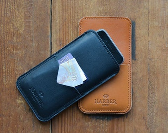 OFFER Slim iPhone 7 and iPhone 7 Plus Case Leather Sleeve Wallet Cover with Card Pocket, iPhone 7 Leather Wallet