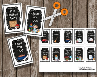 50% Routine Cards - EXTRA Set - Morning - Bedtime - Printable - Instant Download - Printable - Kids - Toddler