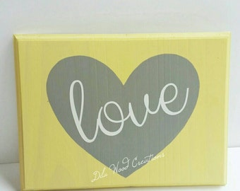 Wood Sign saying,  Room Decor Wood Heart, Gift Idea, teen gift, Mom Gift, Sister Gift, Teenager Gift, last minute gift, SALE