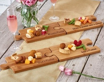 Personalised Bamboo Party Platter