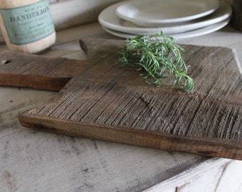 Old Style Cutting Board - Reclaimed Wood