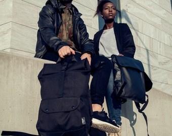 RollPAK (black), Backpack, rolltop, waterproof