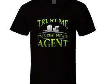 Real Estate Agent t-shirt. Estate Agent tshirt. Agent tee for him or her. Real Estate Agent gift idea as Estate Agent gift. Great Agent top