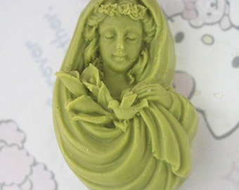 Goddess Shaped Soap Mould Silicone Mold DIY Handmade Soap Mold, M774,M846