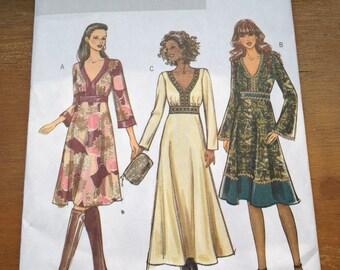 Butterick 4849 A-Line Dress