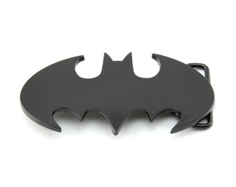 Batman Black Belt Buckle