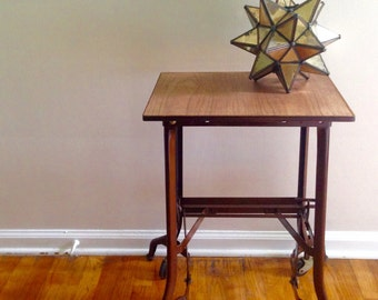 Items Similar To Industrial Table Antique Uhl Toledo