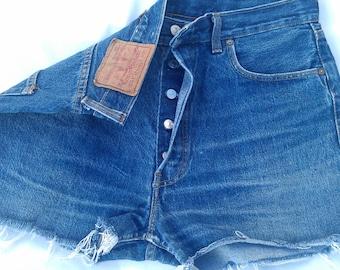 Vintage Levis Denim Shorts High Waisted Hotpants Jean S-XL