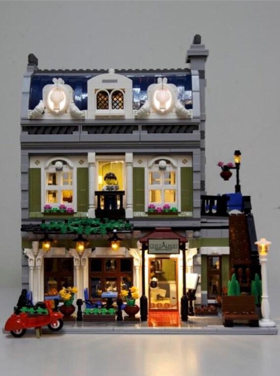 Led Lighting Kit For Lego 174 10243 Parisian Restaurant Lighting