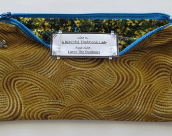Persette #28 Personalized Zippered Organizing Pouch