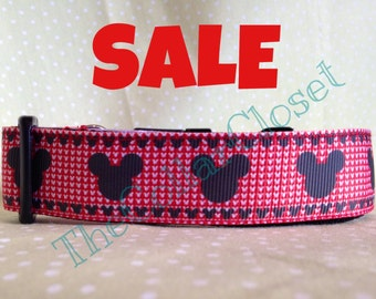 Red Mouse Dog Collar