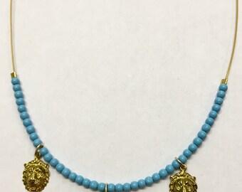 Nellima lion necklace