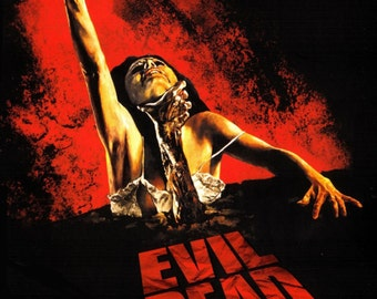 The EVIL DEAD Movie Poster RARE Horror