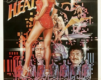 Angel of H.E.A.T. Movie Poster (1983) Action/Sci-Fi