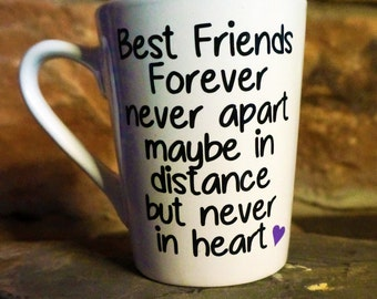 Best Friends Forever Coffee Cup