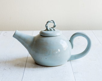 Duck Egg Two Cup Teapot - Made to Order