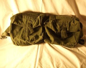 Military pack.  Vintage.