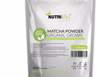 250g Healthy Japanese Matcha Green Tea Powder Organically Grown nonGMO